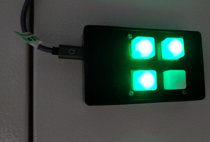 A one glance status light with ESP8266 and Home Assistant